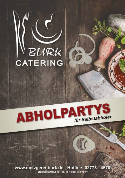 Abholpartys-Burk
